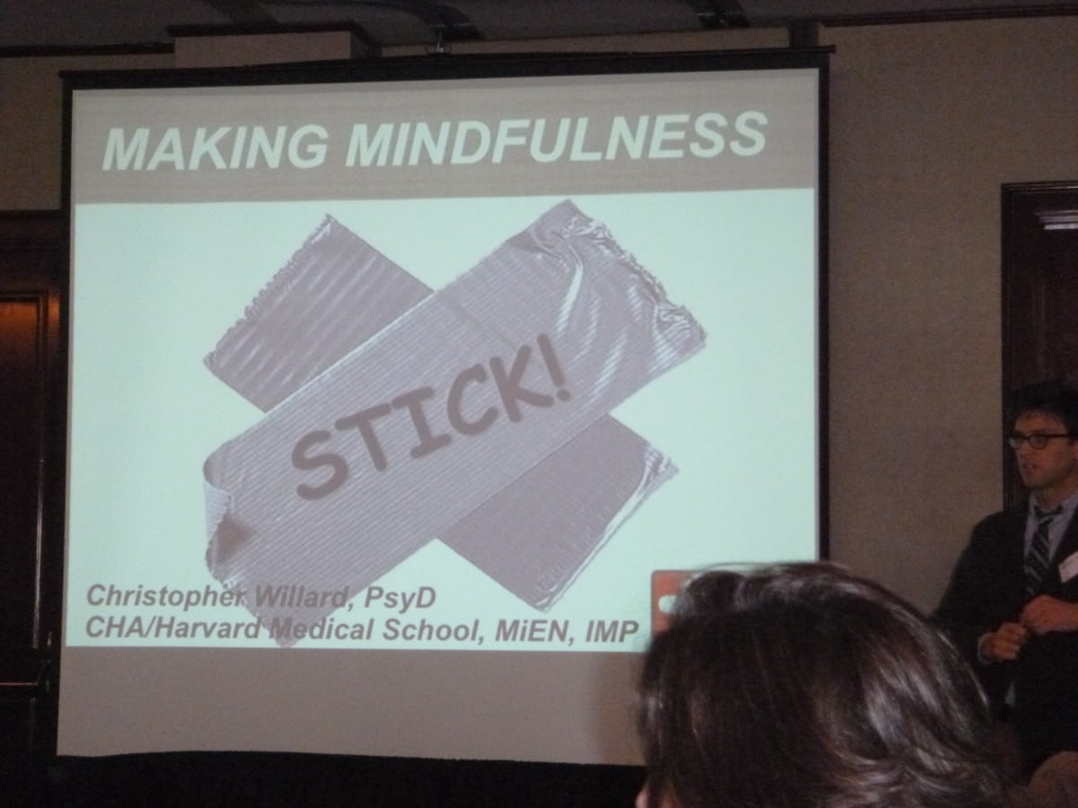 Relax More - Making Mindfulness Stick!