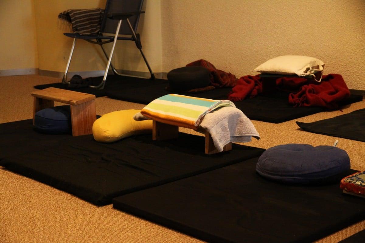 Relax More - Voorzien van een extra kussentje of handdoekje als verhoging.