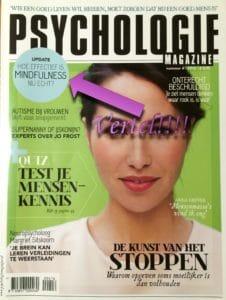 Relax More - Uitglijder in Psychologie Magazine 1