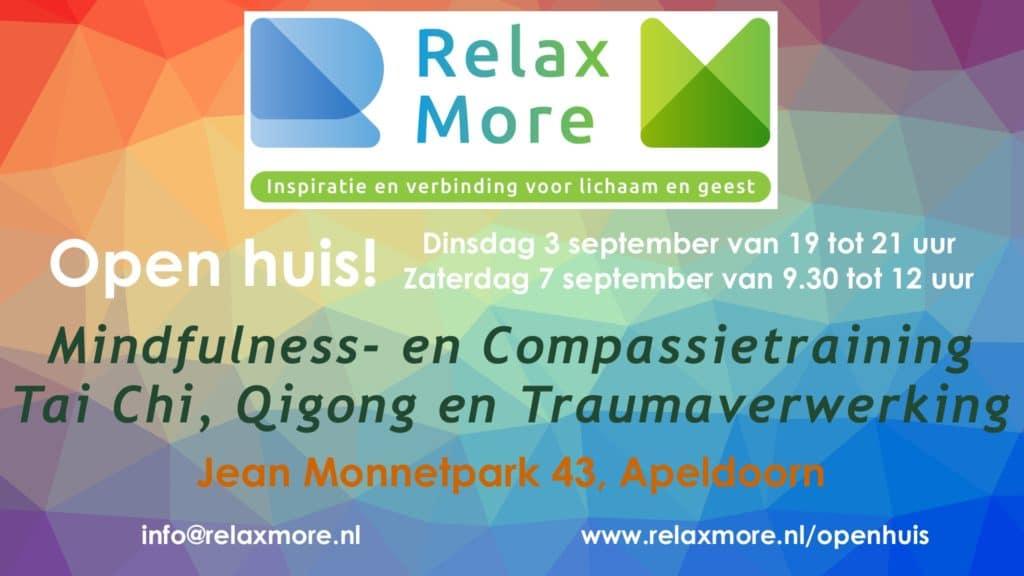 Relax More - Open Huis - twee maal per jaar...