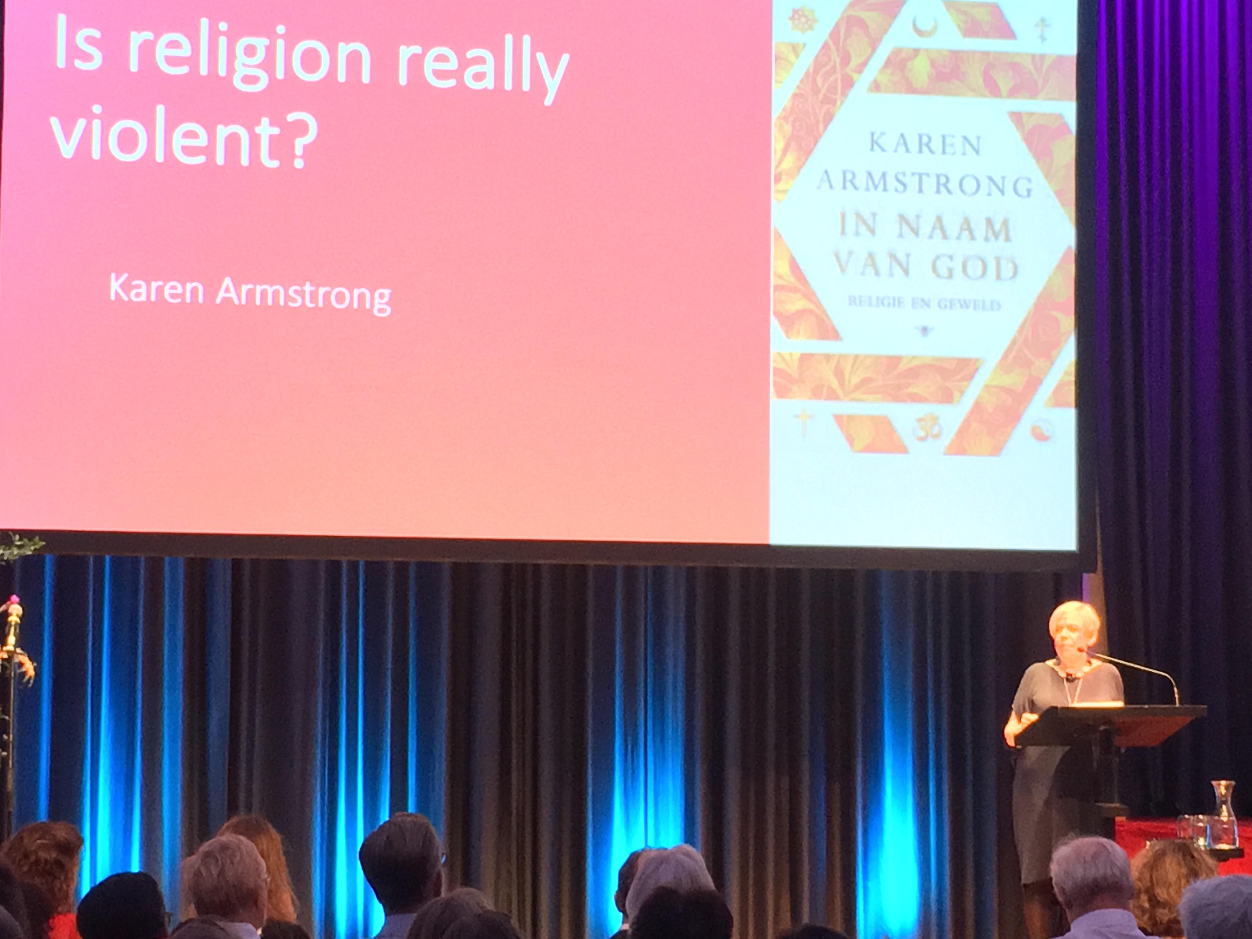 Relax More - Karen Armstrong in Nederland: religie en compassie