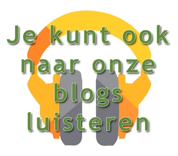 Je kunt onze blogs ook beluisteren!