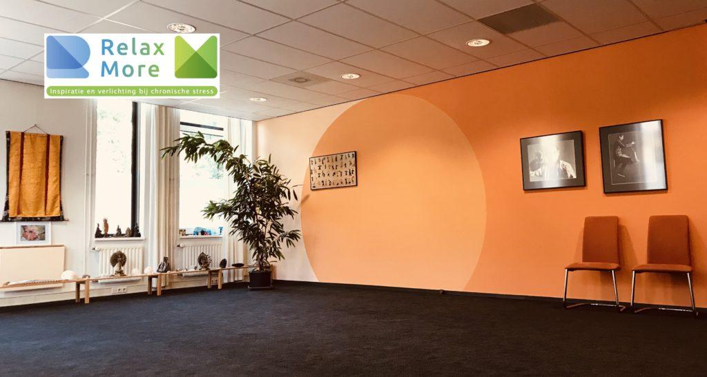 Relax More - Onze mooie zaal aan het Jean Monnetpark 43 in Apeldoorn