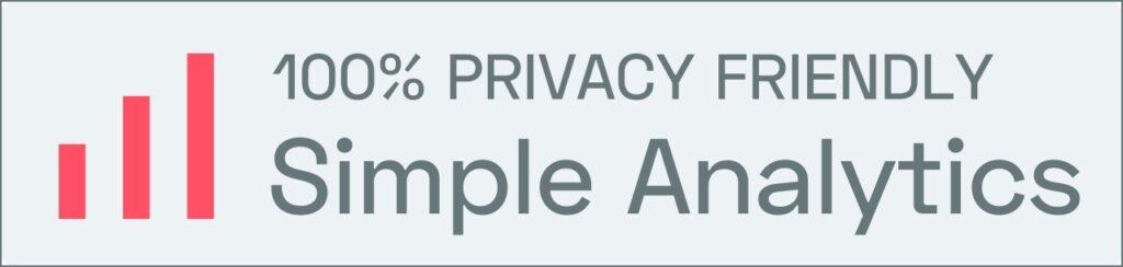 Relax More gebruikt 100% privacy-vriendelijke statistieken